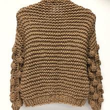 Load image into Gallery viewer, Brown Heavy Knit Sweater Sz O/S