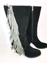 Load image into Gallery viewer, Reba Suede Boots, Size 8