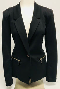 Michael Kors Ponte Knit Jacket, Size 6