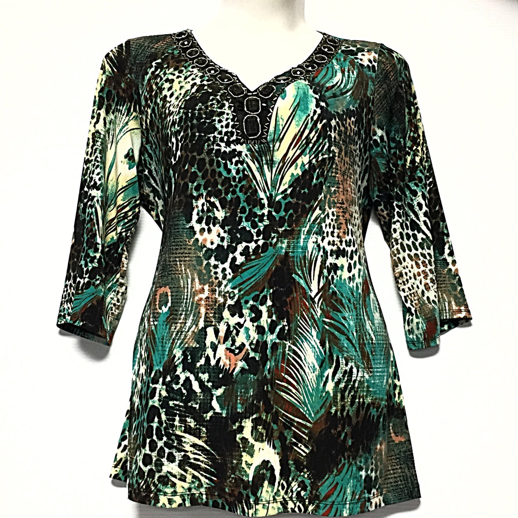 Avenue 3/4 Sleeve Top size 18/20