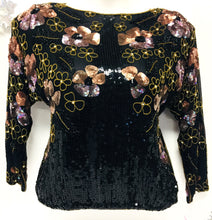 Load image into Gallery viewer, Beaded Sequined Top, Size XL