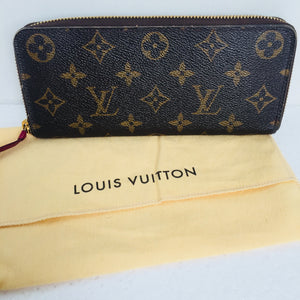 Louis Vuitton Wallet with Zipper