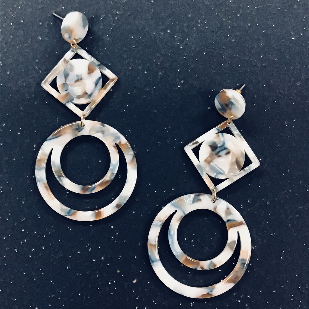 Cellulose  Earring