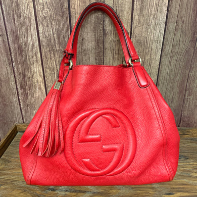 Red Gucci Handbag