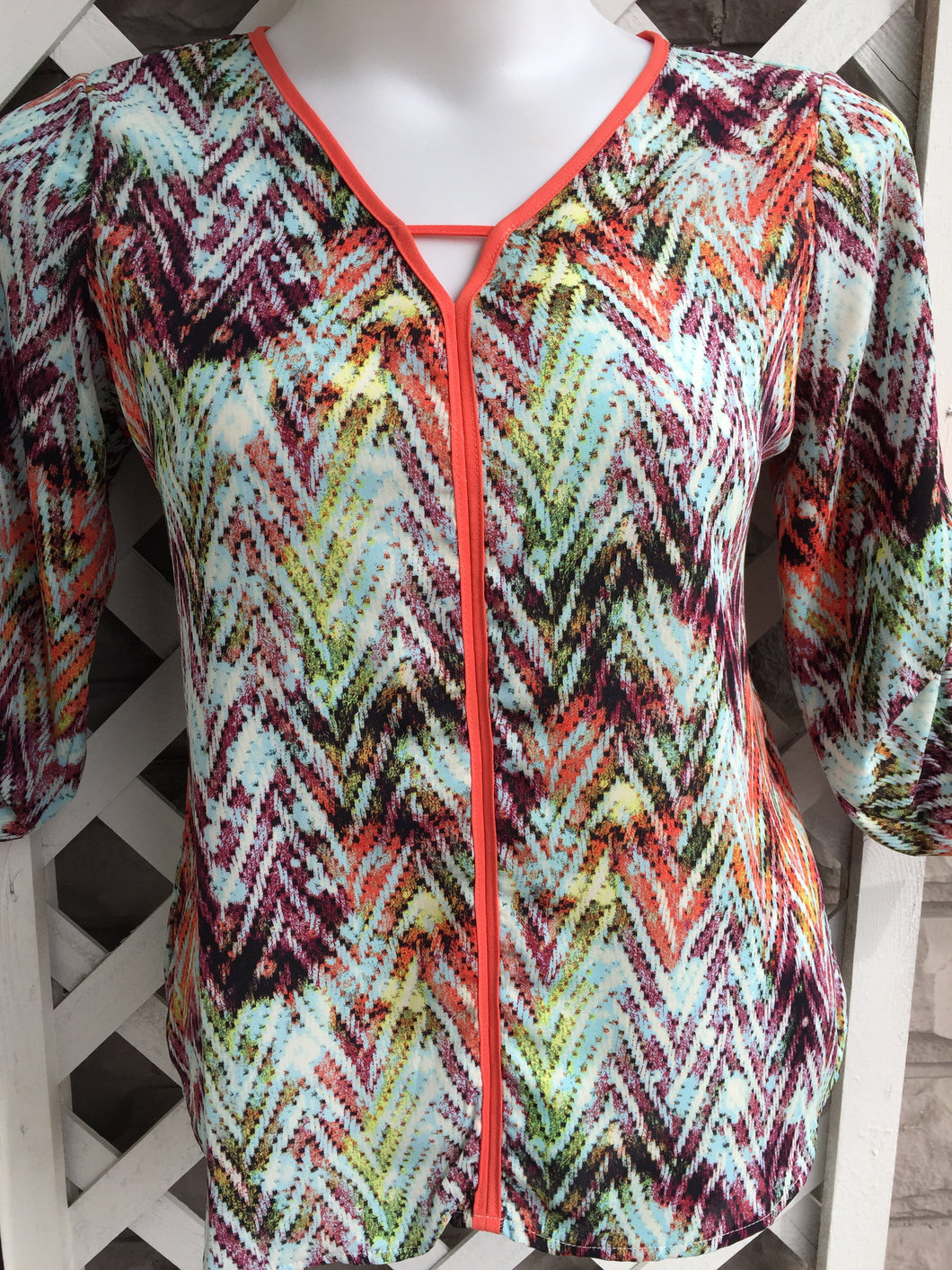 Signature Studio 3/4 Sleeve sz L