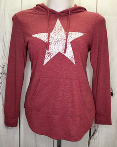 Star Sweatshirt Sz L