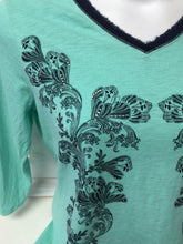 Load image into Gallery viewer, Chico's 3/4 Sleeve Top sz 2 ( L)