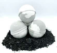 Load image into Gallery viewer, Activated Black Charcooal Bath Bomb