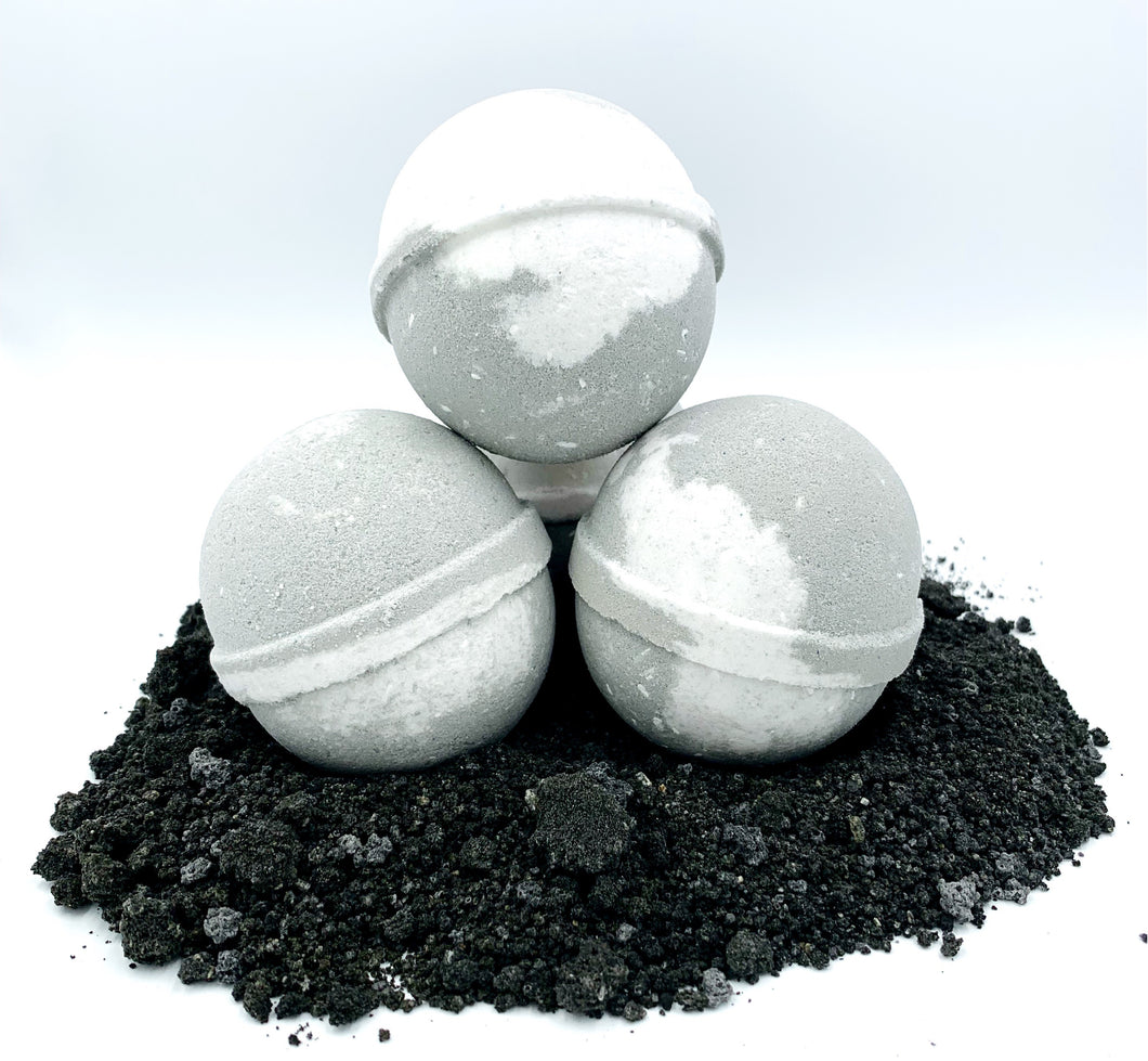 Activated Black Charcooal Bath Bomb