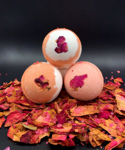 Bath Bomb 'Rosey Cheeks' Bath Bombs Made in the USA