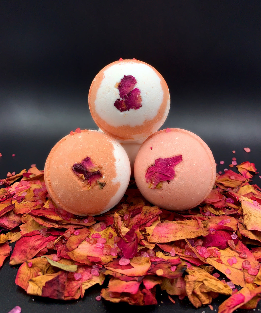 Bath Bomb 'Rosey Cheeks' Bath Bombs (wholesale) Made in the USA