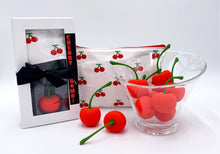 Load image into Gallery viewer, Cherry vibrator, cherry bomb, cherry rechargeable mini Vibrator, travel waterproof vibrator, discreet cherry vibrator, rechargeable vibrator massager, free gift with purchase, vibrator sex, couple vibrator, lesbian vibrator, clit vibrator, kegal vibrator