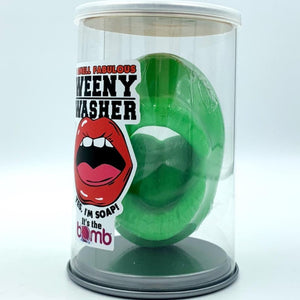 Weenie washer soap, weener cleaner, wiener cleaner, weiner washer, willy washer soap, man gift, man soap, penis soap, Mouth soap, masturbate soap, shower sex soap, dick soap, shower masturbation, masturbator, gag gift soap, sexy gift, gay gift for him novelty gift, bachelor, gay, penis soap, green penis soap, martian, gag gift