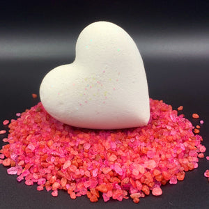Heart Bath Bombs Valentine Individuals 'Party Hearty'