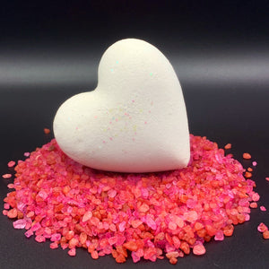 Heart Bath Bombs, Black Heart Individuals 'Black Velvet' Made in the USA