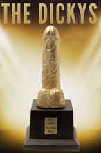 Load image into Gallery viewer, THE DICKYS, WORLDS SMALLEST dick, DICKYS, DICK TROPHY, DICKY AWARD, DICKY AWARDS, BIGGEST DICK, SMALLEST LOL, DICKY, THE DICKYS, BEST BLOW JOB, GOLDEN BONER, COCK TEASE, BEST LOVER, MVP MOST VALUABLE PRICK, DICKY TROPHY AWARDS FOR YOU TO PRESENT TO ANYONE, BOSS, BOYFRIEND, GIRLFRIEND, NEIGHBOR, LOVER, BOYTOY