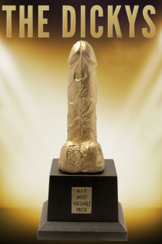 THE DICKYS, WORLDS SMALLEST dick, DICKYS, DICK TROPHY, DICKY AWARD, DICKY AWARDS, BIGGEST DICK, SMALLEST LOL, DICKY, THE DICKYS, BEST BLOW JOB, GOLDEN BONER, COCK TEASE, BEST LOVER, MVP MOST VALUABLE PRICK, DICKY TROPHY AWARDS FOR YOU TO PRESENT TO ANYONE, BOSS, BOYFRIEND, GIRLFRIEND, NEIGHBOR, LOVER, BOYTOY