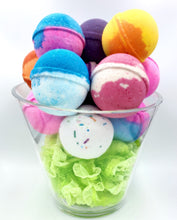 Load image into Gallery viewer, Bath bombs, bath bomb, tart bath bomb, Cbd bath bomb, bath bomb bullet surprise vibrator, itsthebomb.com, its the bomb bath bomb, swinger party, candy lip bath bomb, wholesale bath bombs, bulk bath bombs, gay party, bachelorette party, wedding gift, gay wedding gift, made in America, USA,