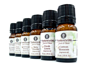 Fresh & Clean Fragrance Oil Collection