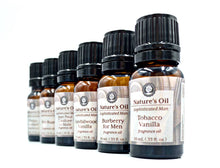 Load image into Gallery viewer, SPA Fragrance Oil, Sexy, Sophisticated Man Essential Oils for Men. Perhaps the Man Cave?