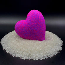Load image into Gallery viewer, Lovers bath bomb, Valentine big bath bomb, Heart bath bombs, heart bath bombs bulk, bulk heart bath bombs, bath bomb heart, love bath bomb, valentine, bathroom decorations, bachelorette wedding gift, made in USA, hearts valentines