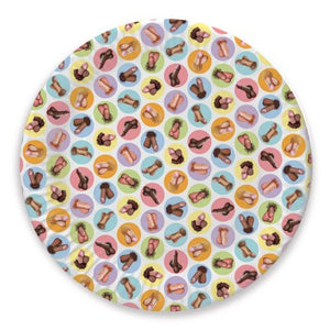 Naughty Paper Plates, Napkins & Straws ~ Adult Party