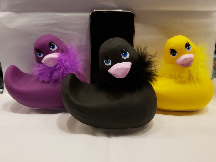 Ducky Vibrating Massagers~Black, Purple or Yellow