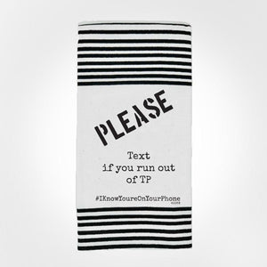 Naughty towel, crazy towel saying, silly saying towel, kitchen decor towel, fishing towel, wash your hands funny towel