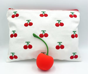 Cherry Bomb Vibrator with a FREE Cherry Cosmetic Bag! (wholesale options)