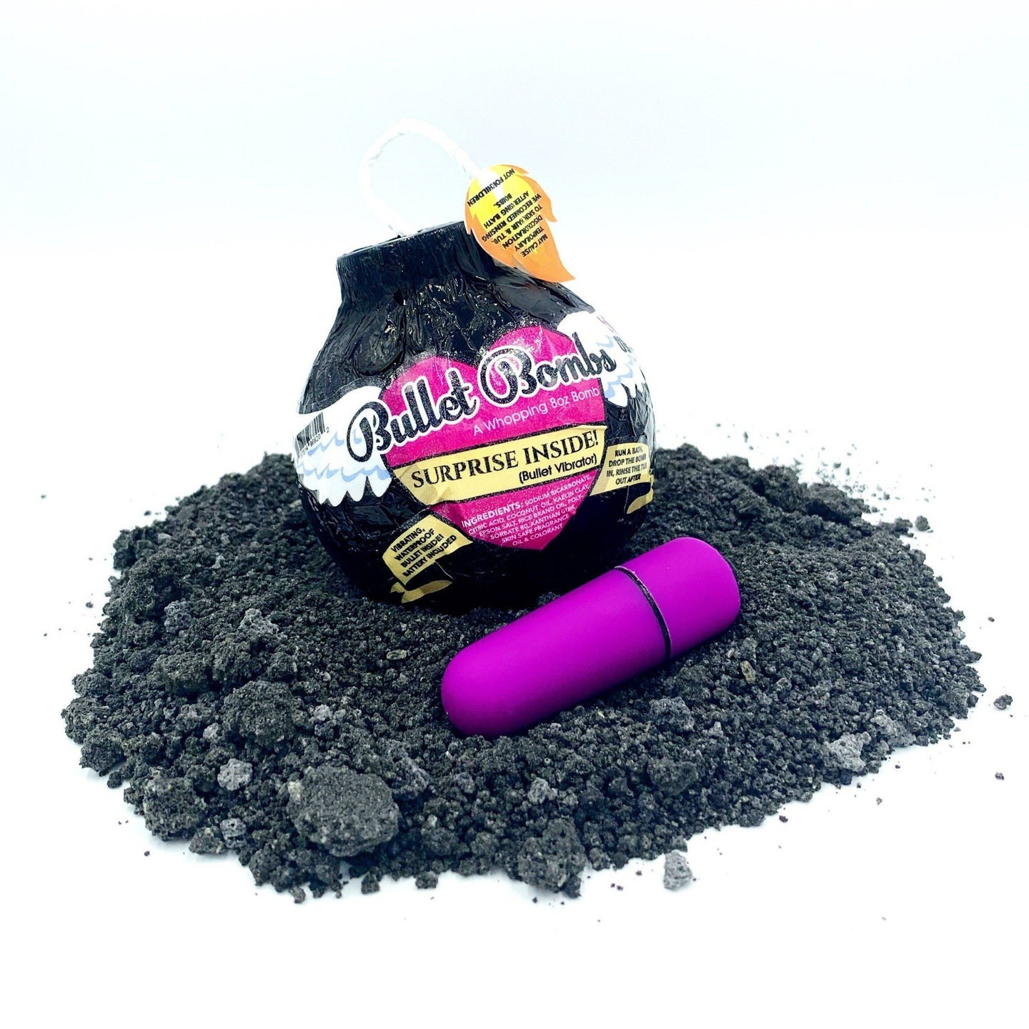 Bath Bomb Bullet ~ Mystery Toy for the Woman in your life!