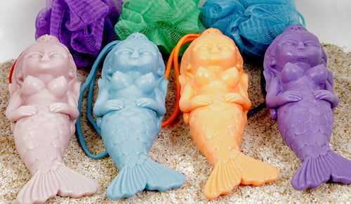 Mermaid Soap On a Rope