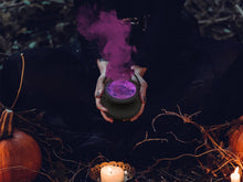 Load image into Gallery viewer, Cauldron 'Wolfbang Bloom' Spooky Bath Bomb