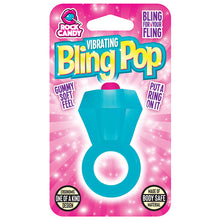 Load image into Gallery viewer, Bling pop, ring vibrator, vibrator, bullet vibrator, vibrating ring vibrator, bachelorette party vibrator ring