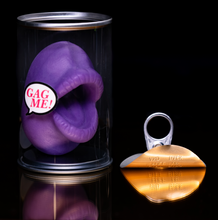 Load image into Gallery viewer, Weeny Washer' aka 'The Mouth' Mouth Shaped Soap in a Cute Clear Gift Can (wholesale & drop-ship)