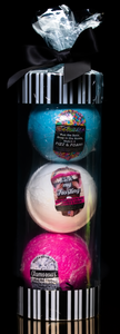 Bath Bomb 3-pack gift tube
