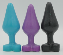 Load image into Gallery viewer, butt plug soap, butt plug, gag gift, anal sex, sex party, sexy butt soap, sexy gift, gay rainbow soap, gift for him or her, bath,  novelty gift, bachelorette party gift, bachelor,  party soap, vagina soap, made in America, USA