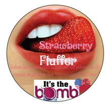 Load image into Gallery viewer, Strawberry Fluffer Bath Bomb