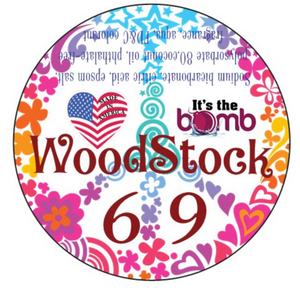Bath Bomb 'Woodstock '69' Bath Bombs Made in the USA