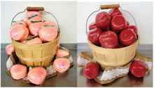 Load image into Gallery viewer, peach bath bomb, bath bomb apples, bath bomb, bath bombs, bulk bath bombs