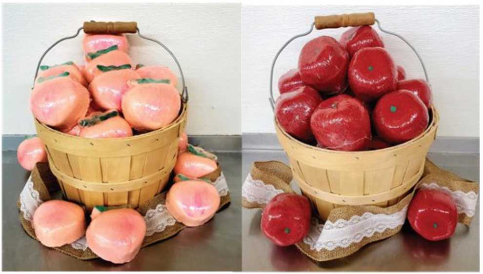 Buschel of Apples or Peaches Bath Bombs