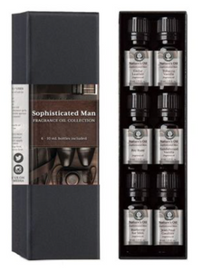 Sexy, Sophisticated Man Essential Oils for Men. Perhaps the Man Cave?