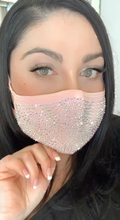 Load image into Gallery viewer, Mask Sexy with Austrian Crystal bling. Pretty Sparkle Masks (drop-ship)