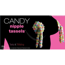 Load image into Gallery viewer, g-string candy, candy cock ring, Candy clothing, candy string bikini, candy garter, candy wearables, candy pasties, pasties candy, candy g-string, candy necklace