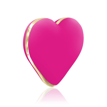 Load image into Gallery viewer, Valentine vibrator, Discreet vibrator, vibrator heart, heart vibrator, valentine vibrator, heart shaped vibrator, pink vibrator, rechargeable vibrator, bob, dildo, sex toy for women, women's sex toy, discreet sex toy
