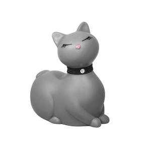 Cat lover vibrator, vibrator cat, cat massager, here kitty kitty, discreet vibrator toy, white kitty toy, cat vibrator, discreet cat vibrator