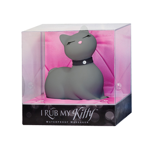 Here Kitty Kitty~Soft Grey Massager