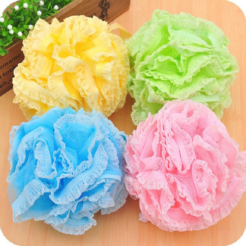 Panty Lace Loofah Valentine Bath or Shower Ball Loofahs. Big & Luscious. Panty Lace