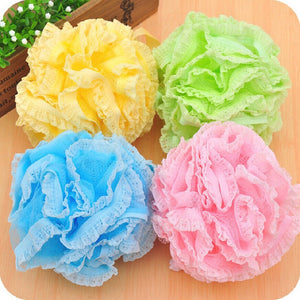 Panty Lace Loofah Bath Balls. Big & Luscious
