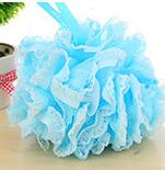 Load image into Gallery viewer, Panty Lace Loofah Valentine Bath or Shower Ball Loofahs. Big & Luscious. Panty Lace