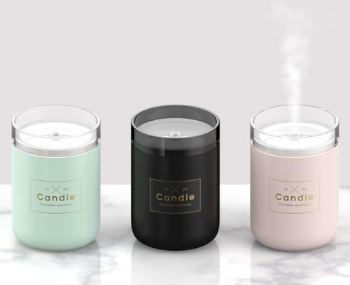 Spa Essential Oil Aroma Candle Diffuser